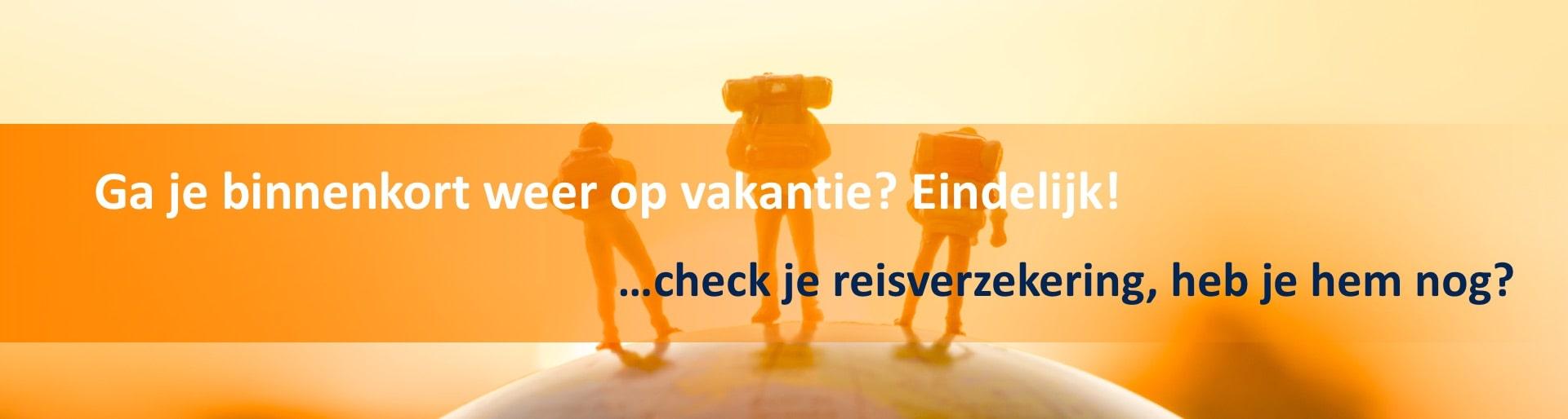 Reisverzekering banner homepage